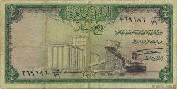 1/4 Dinar IRAK  1971 P.056
