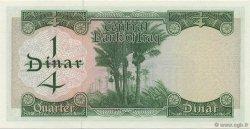 1/4 Dinar IRAK  1971 P.056 pr.NEUF