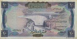 10 Dinars IRAK  1971 P.060 TTB