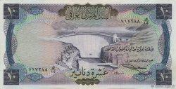 10 Dinars IRAK  1971 P.060 SUP+