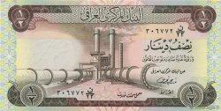1/2 Dinar IRAK  1973 P.062 SUP+