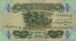 1/4 Dinar IRAK  1979 P.067a TTB