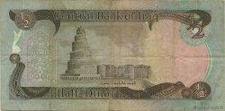 1/2 Dinar IRAK  1980 P.068a TB à TTB