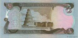 1/2 Dinar IRAK  1980 P.068a SUP+