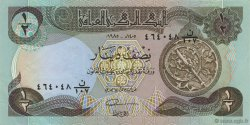 1/2 Dinar IRAK  1985 P.068a SUP