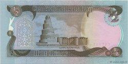 1/2 Dinar IRAK  1985 P.068a NEUF