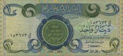 1 Dinar IRAK  1979 P.069a TTB