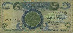 1 Dinar IRAK  1980 P.069a TB