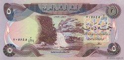 5 Dinars IRAK  1982 P.070a NEUF