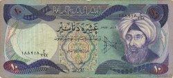 10 Dinars IRAK  1982 P.071a TB