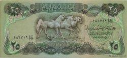25 Dinars IRAK  1982 P.072a SUP