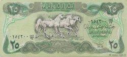 25 Dinars IRAK  1990 P.074a SUP