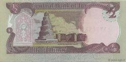 1/2 Dinar IRAK  1992 P.078a NEUF