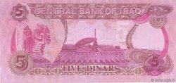 5 Dinars IRAK  1992 P.080c NEUF