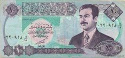 10 Dinars IRAK  1992 P.081 SUP