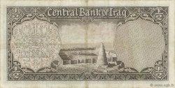 1/2 Dinar IRAK  1959 P.052b TTB