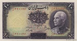 10 Rials IRAN  1938 P.033Aa NEUF