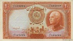 20 Rials IRAN  1942 P.034Af TTB+