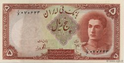 5 Rials IRAN  1944 P.039 SUP