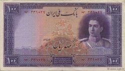 100 Rials IRAN  1944 P.044 TTB