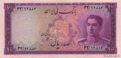 100 Rials IRAN  1951 P.050 SPL