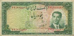 50 Rials IRAN  1953 P.061 TB+