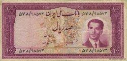 100 Rials IRAN  1953 P.062 TB+