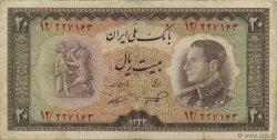 20 Rials IRAN  1954 P.065 TB