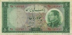 50 Rials IRAN  1954 P.066 pr.TTB