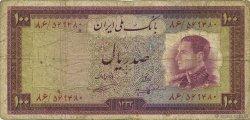 100 Rials IRAN  1954 P.067 B