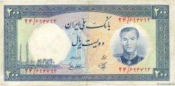 200 Rials IRAN  1958 P.070 TTB