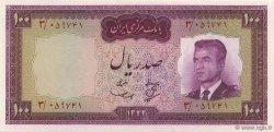 100 Rials IRAN  1963 P.077 NEUF