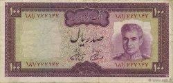 100 Rials IRAN  1971 P.091b pr.TTB