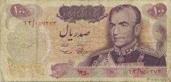 100 Rials IRAN  1971 P.098 B
