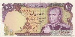 100 Rials IRAN  1974 P.102c NEUF