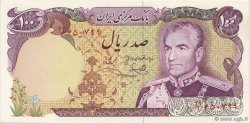 100 Rials IRAN  1974 P.102d NEUF