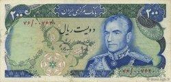 200 Rials IRAN  1974 P.103b TTB