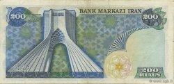 200 Rials IRAN  1974 P.103c pr.TTB