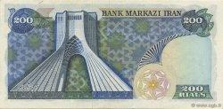 200 Rials IRAN  1974 P.103c SUP