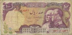 100 Rials IRAN  1976 P.108 B