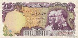 100 Rials IRAN  1976 P.108 SUP