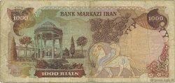 1000 Rials IRAN  1976 P.105z TB