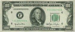100 Dollars ÉTATS-UNIS D