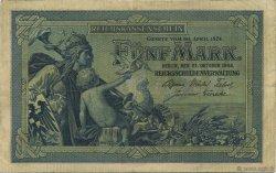 5 Mark ALLEMAGNE  1904 P.008a pr.TTB