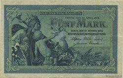 5 Mark ALLEMAGNE  1904 P.008a pr.SUP