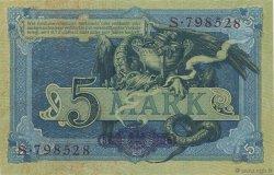5 Mark ALLEMAGNE  1904 P.008a pr.NEUF