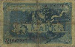 5 Mark ALLEMAGNE  1904 P.008b B