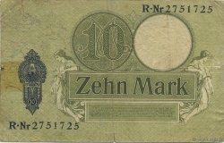 10 Mark ALLEMAGNE  1906 P.009b TB