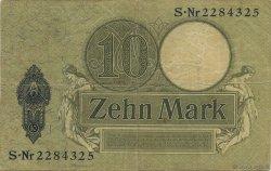 10 Mark ALLEMAGNE  1906 P.009b pr.TTB