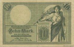 10 Mark ALLEMAGNE  1906 P.009b pr.SUP